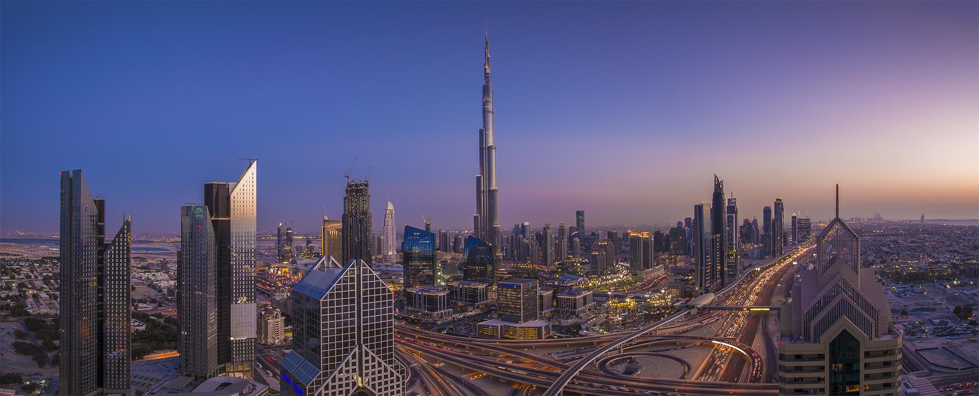 Burj Khalifa at Dusk