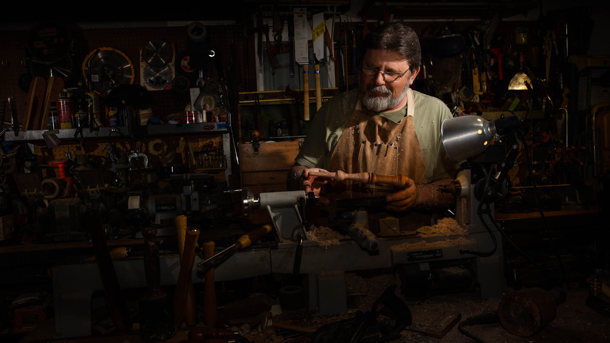 Portrait: Kim Patti – Master Woodworker