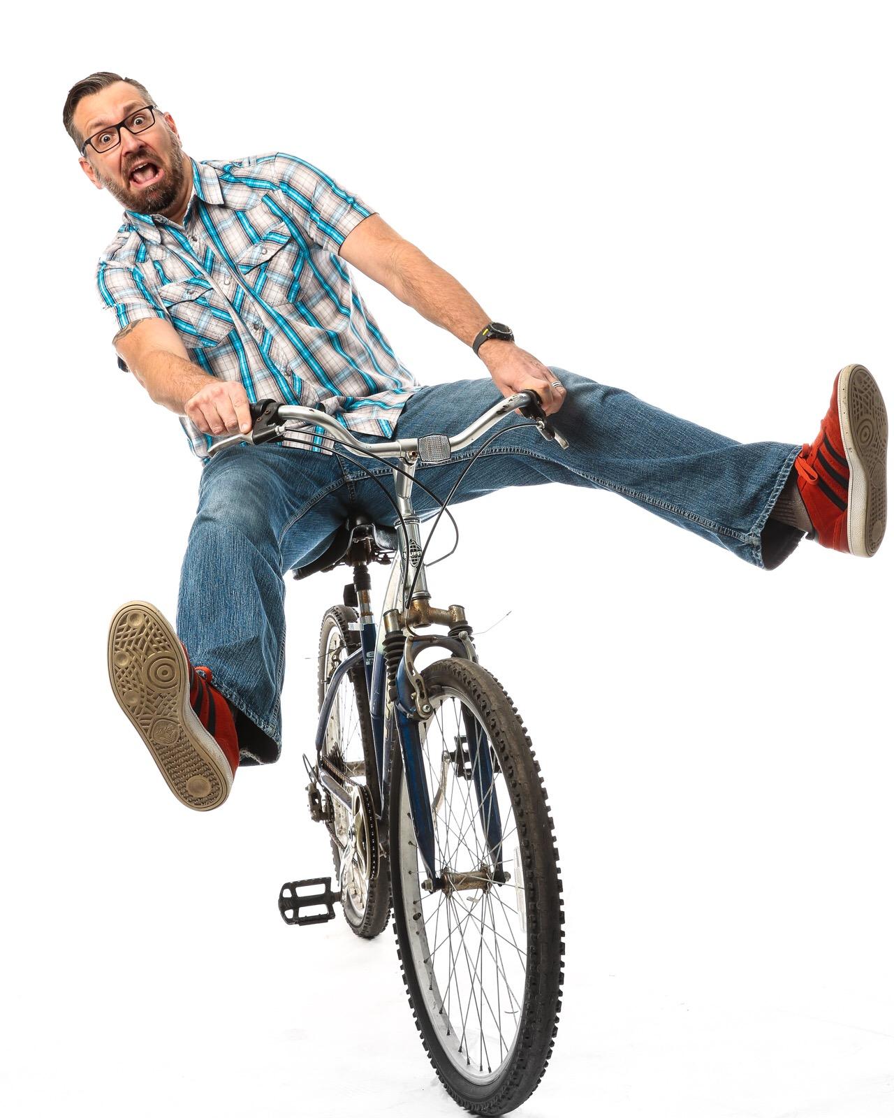 Jason on the Bike