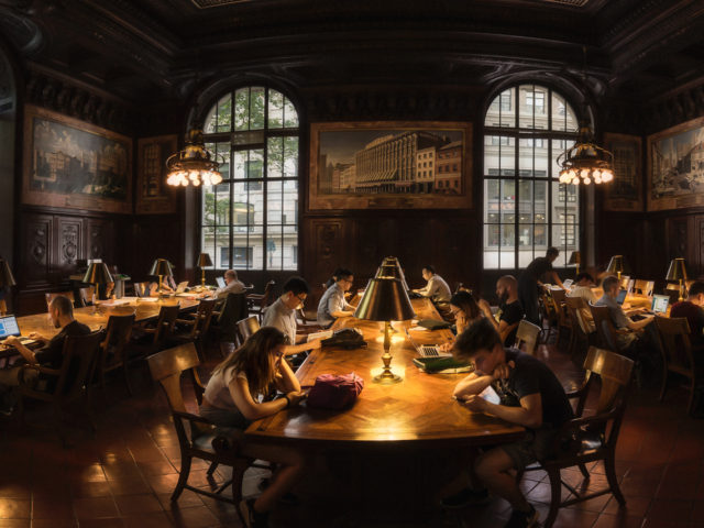 Pushing the 11mm Lens at the Library