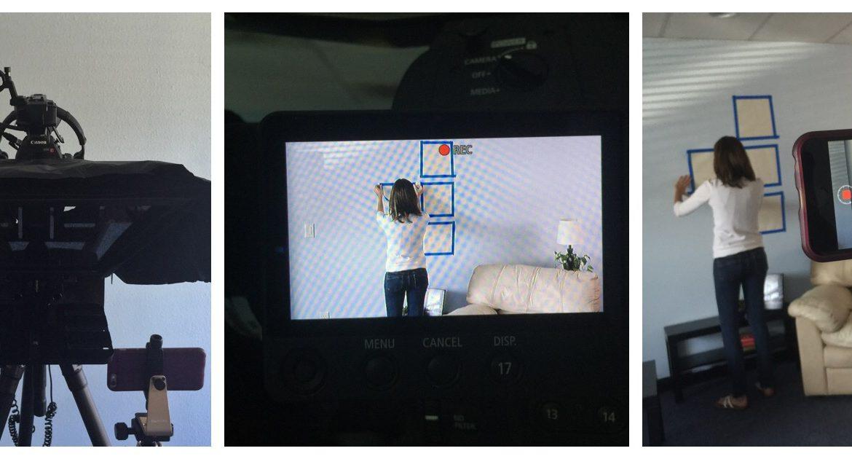 BTS – Video Filming w Mia McCormick