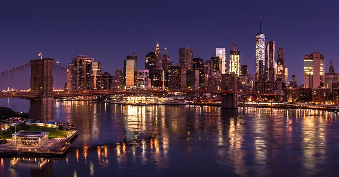 New York City at Blue Hour