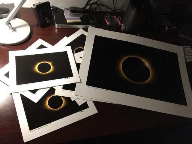 Making Prints for the Eclipse